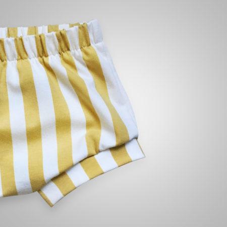 Bummies - Streifen gold