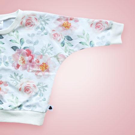 Pullover - Bright Roses