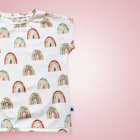 T-Shirt - Rainbows Aquarell